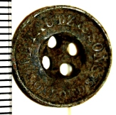 Tautz button from surface of rubble mound; 7th April 2013