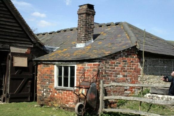 Extension to outbuilding; Saddlescombe Farm
