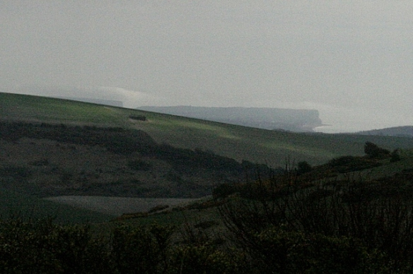 View to SE towards Seaford Head and Cuckmere Haven