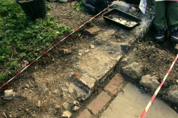 Remains of front doorway