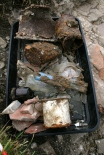 Finds tray from the drain; 30th August 2013.