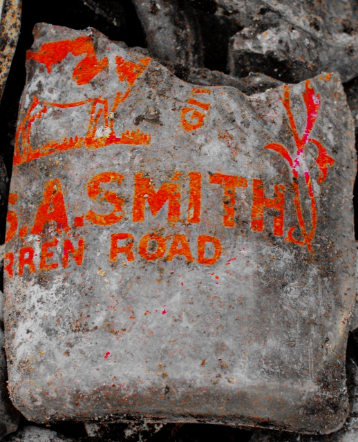 Enhanced image of Smith's milk bottle
