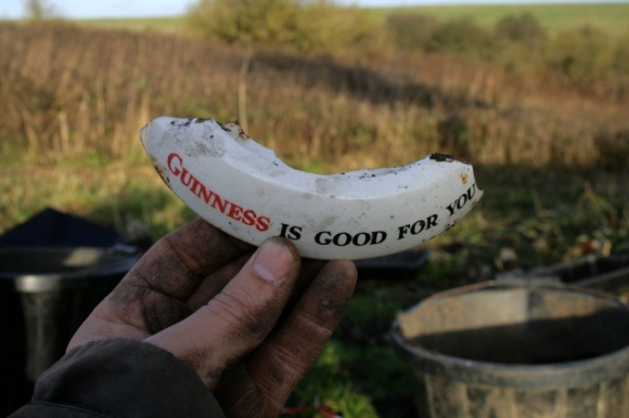 'Guiness is good for you' ashtray