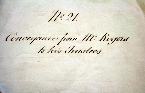 Cover of 1825 Trustee Document