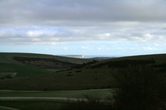 Looking SE towards Seaford Head