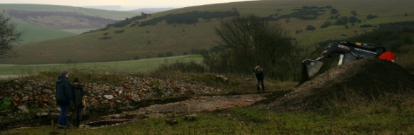 Looking SSE at backfilling of dig site
