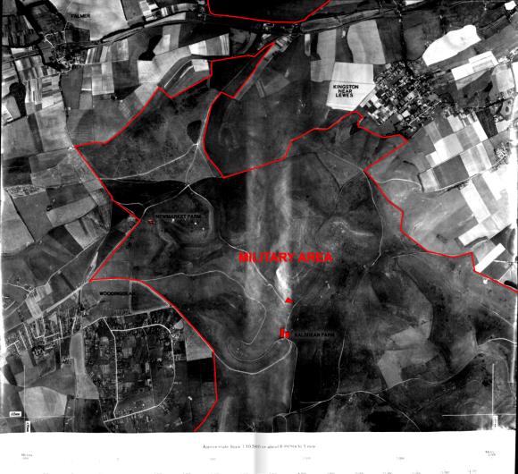 Military Area east of Woodingdean