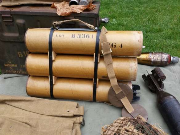 "Replica 3"" Mortar Carrying Case"