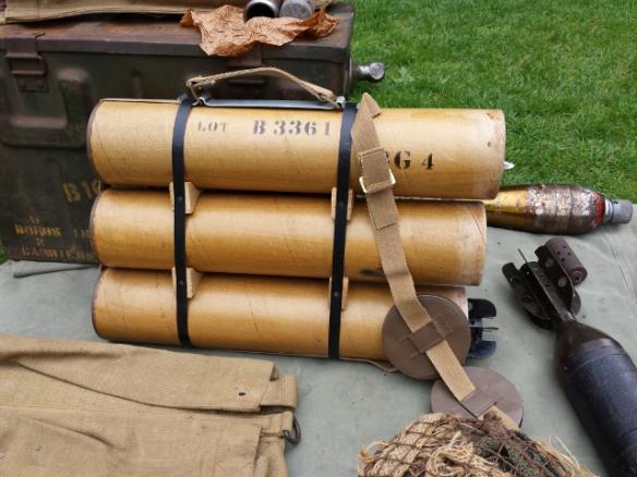 "Replica 3"" Mortar Carrying Case"