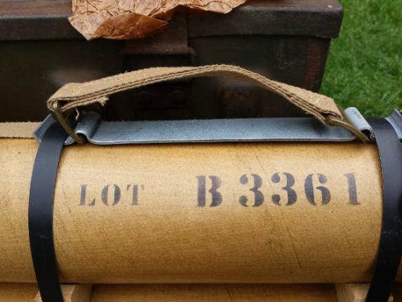 """Replica 3"""" Mortar Carrying Handle"""
