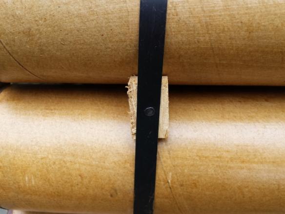 "Replica 3"" Mortar Metal Strap with Tin Tack"