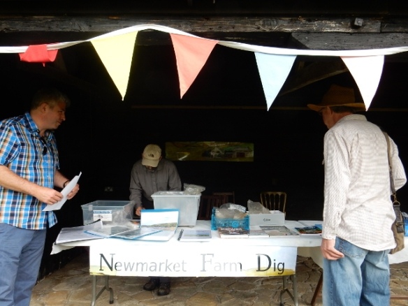 Newmarket Farm Dig Stall, Michelham Priory WW2