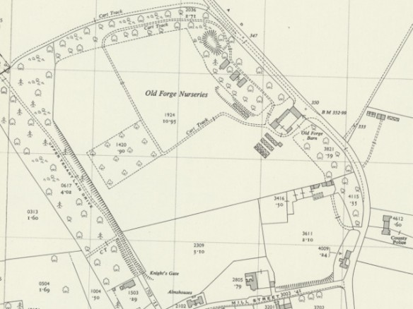 Falmer, O.S. 1956. Map courtesy of National Library of Scotland.