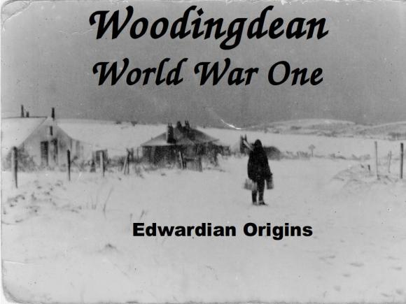 Woodingdean WW1 Edwardian Origins Talk. Photo, Holland-Mercer Collection.