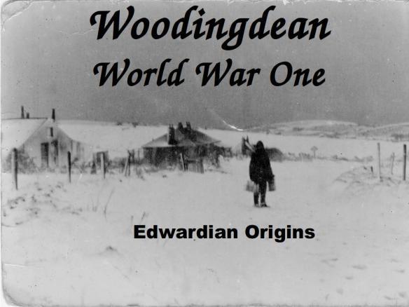 Woodingdean WW1 Edwardian Origins Talk. Photo, Holland-Mercer Collection.