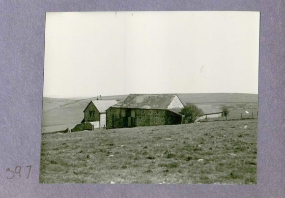 Photo 397. Newmarket Farm, probably pre 1934. In Captain Bertie Hubbard Maclaren's scrapbook. Brighton & Hove Royal Pavilion and Museums, ref. HA930078.
