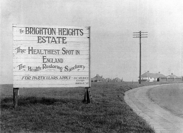 Oscar Selbach's Brighton Heights Estate; 'The Healthiest Place in Britain'.