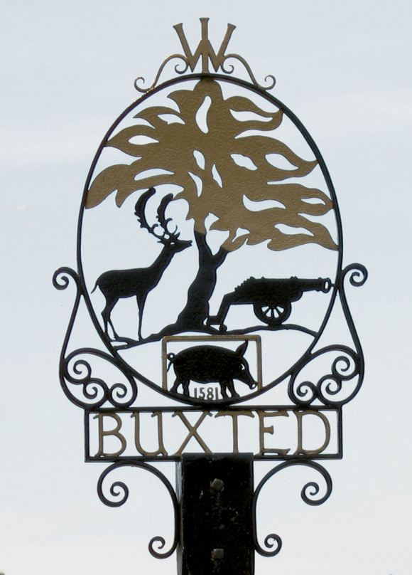Buxted village sign